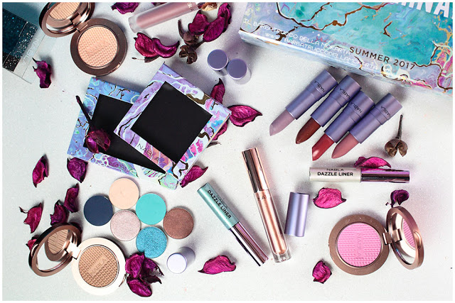 nabla cosmetics freedomination collection summer eyeshadow lipstick diva crime dreamy matte review